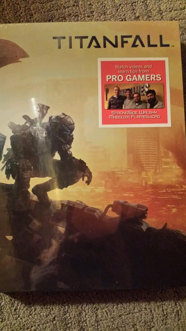 Giving away two autographed @primagames Titanfall strategy guides! All you have to do to win is retweet this post! http://t.co/ljsK32Kg3g