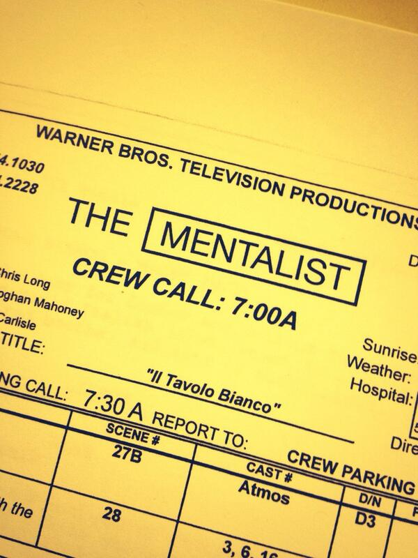 Yeah peeps this is happening!!! #TheMentalist http://t.co/Suep85bPOs