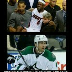 The NHL VS The NBA http://t.co/xkKLB33MQa