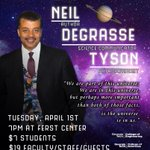 OMG, @neiltyson is coming to town!!!! :) RT @GTSCPC SCPC and Talks @ Tech Present: DR. NEIL DEGRASSE TYSON http://t.co/smgCoGGZi8