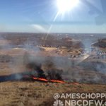 Grass fire in Trophy Club near Denton Creek. Estimated 40-100 acres. @NBCDFW @NBCDFWWeather http://t.co/PuqZ3CFbLf