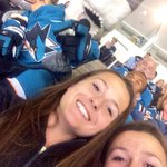 Selfie with Sharkie #SJSharks http://t.co/iOT1RYTWn9