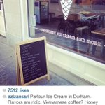 RT @carpedurham: Nice @azizansari checked out @parlourdurham http://t.co/S5JTCYa2bz