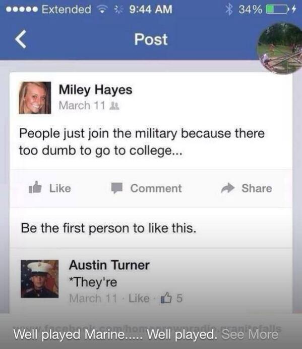 I bet she's regretting posting this message... http://t.co/4mdJq20BvI
