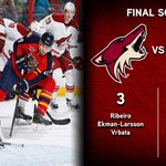 RT @phoenixcoyotes: Horn sounds, #COYOTES WIN! Smith w/ 31 saves, Vrbata has 3 points & Yotes beat FLA 3-1. Recap http://t.co/cehlrNgUhC http://t.co/ILsMU6yH6O