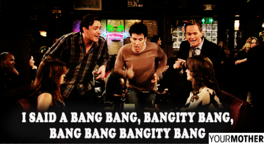 Best. Song. Ever. #LyricsThatNeedToBeShouted #HIMYM http://t.co/rkIBsUO6Gg