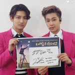 #TVXQ! supports the play Hero in my Heart, starring LEE DONG WOO. http://t.co/ZDcRKk6gy4