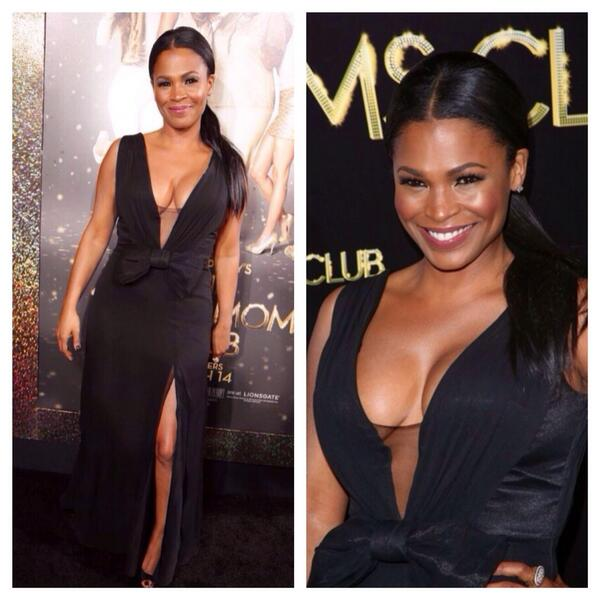 I styled the beautiful and talented @NiaLong for last night's Single Mom's Club premiere! #sleekhair #ponytail #chic http://t.co/nPiuHAZGHt