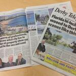 Fantastic feature in @derbytelegraph today as the #derbyatmipim team present to investors: http://t.co/4hIaYbRsTa http://t.co/819raRyRYy