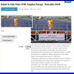 Gujarat Is Only State With Surplus Energy : #OnlyNaMo https://t.co/RnSoTLPZuc http://t.co/aM7uKevYpD