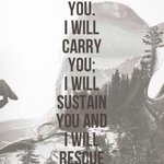 God will carry you http://t.co/kfKMP09UUO