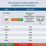 Key Issue in this Election for all Parties is ---> #OnlyNaMO http://t.co/mFLfR1Wow0
