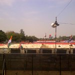 RT @comedywithkapil: The huge TMC rally in Delhi - by chairs. http://t.co/5ij3dIJHM8