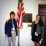 RT @SpecialOlympics: Its #HillDay! @SONYinfo athlete Vinny and @SOProjectUNIFY NY Head Youth Activation Committee Member @xbethstrangex http://t.co/BfgQk2Kjxq