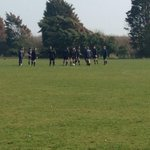 RT @AFCBCommunity: @BUFCMens warming up prior to the game against Plymouth Uni. Kick off at 2pm @sportBU http://t.co/Fh32gTXqtw