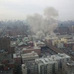 RT @Sixfever: Wow RT @orangeadnan: Huge explosion at east harlem. A building just completely exploded. http://t.co/fBuWFCQCzl""