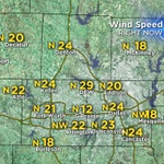 Winds across the Metroplex are sustained between 20 mph-30 mph. Wind advisory until 1pm. #txwx @CBSDFW @CBS11 http://t.co/17r0gKoqjl