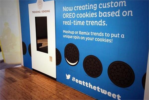 Un distributeur créé des Oréo personnalisés à partir des tendances #Twitter http://t.co/mkihHo1J20 via @Baionanne http://t.co/OI2qODLwl6