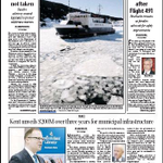 The front page of todays Telegram http://t.co/xYISWWRkfN