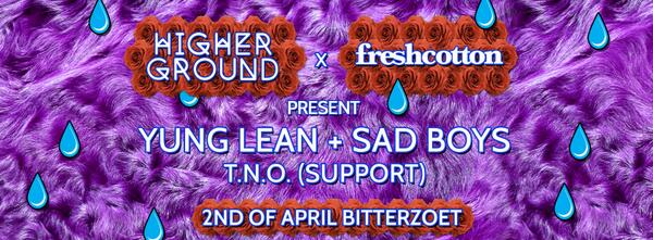 FreshCotton & Higher Ground Presents: YUNG LEAN & T.N.O. in concert. http://t.co/zFZN7HeKcU