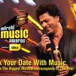 RT @shashiw: Mirchi Music Awards this Sunday at 7 pm, on Colors. the Badshah of Romance - SRK will rock the stage http://t.co/MdcHdjltNU
