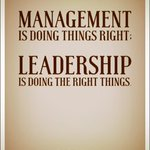 There is a requirement for both management and leadership but its better when they get it together.#sheffieldissuper http://t.co/w0ovxdonuO
