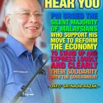 We need to hear frm those who supports d move to reform economy. Express ur solidarity | @NajibRazak http://t.co/yIV1VepnUe @Huan2U
