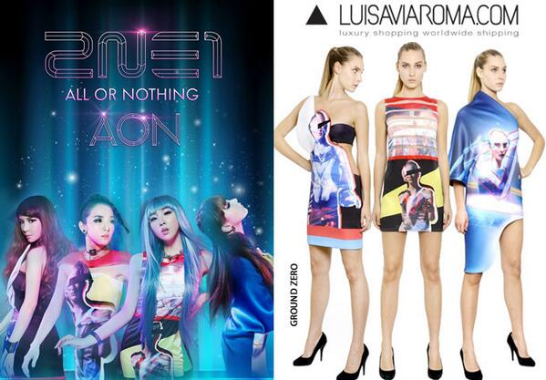 South Korean girl band #2NE1 is the essence of style in the #GroundZero collection! http://t.co/VzgjTRwA8X http://t.co/RPHmuDmw3s