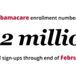 RT @politico: Ready for some #Obamacare numbers? http://t.co/LhhDRDg14f http://t.co/mNm3TpN4g0