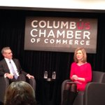 Listening to @DublinOhio based @cardinalhealth CEO George Barrett @columbuschamber CEO Series #CCCEOInsights http://t.co/SbrQLsJTWb