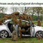 RT @MrsGandhi: AAP team analyzing Gujarat development!! :P http://t.co/1OH0OeV1qi