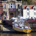 RT @ParkinJeremy: Looks like the guys on the Esk Belle have moored in the right place #Whitby http://t.co/Lg4MQH2rAn