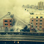 RT @FDNY: Now: Photo of #Manhattan collapse. #FDNY has 39 units and 168 members responding. The scene is developing. http://t.co/zWhTmi9Dsm