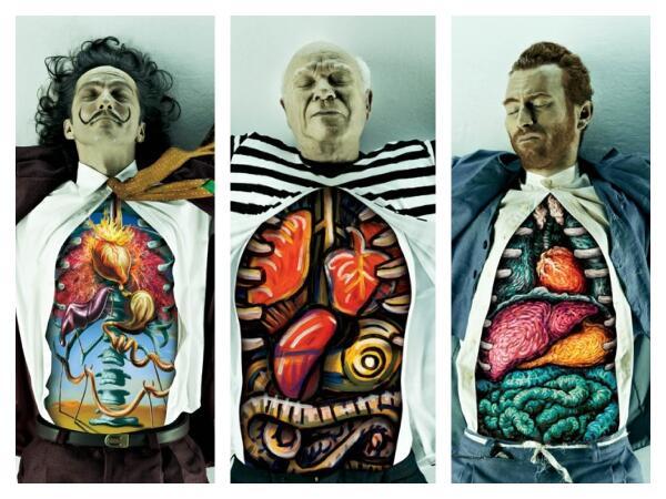 Dali, Picasso, y Van Gogh, por dentro: http://t.co/JKPb9wCZPa