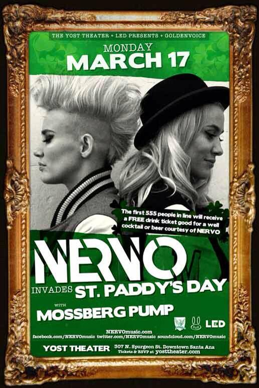 Want to win 3 FREE tixs to NERVO?   1) RT this Post 2) Tag 2 friends 3) Hashtag  #NERVO & #YostTheater http://t.co/tvk9AGMLrE