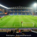 RT @afcbournemouth: SNAPSHOT: This is the view from the away end at Ewood Park. If youre at the game, whats yours like? #BRFCvAFCB http://t.co/m8IJmmNf0X