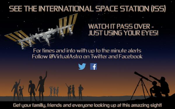 UK ISS passes start again soon! Stay posted and get your friends to follow for alerts and info! http://t.co/z8JKaFGlLc  (Please RT)