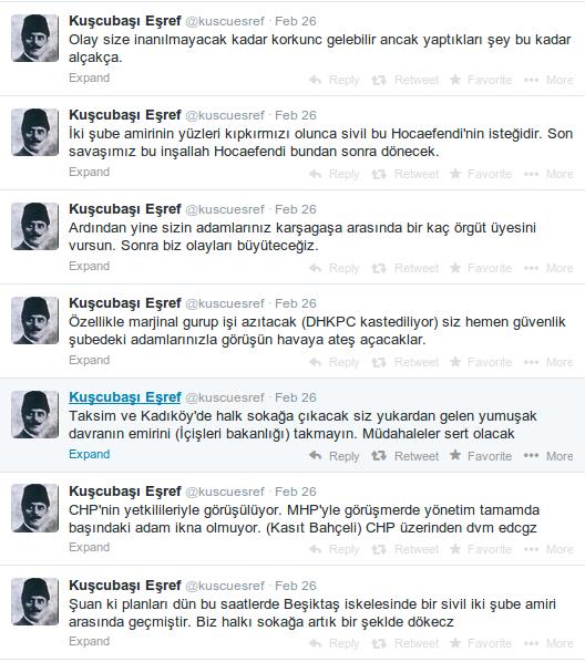 operasyonel hesaplardan @kuscuesref Gülenci polislere atfettiği bir tertipten bahsetmişti 26 Şubatta, şu şekilde: http://t.co/C66SWkUgXo