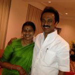 RT @mkstalin: Many more happy returns of the day to Durgavathy Stalin - my wife, friend and a pillar of support. Happy Birthday! http://t.c…
