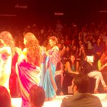 RT @TeamMissMalini: How pretty are the girls #fireworks in @mandybedi sarees! #girlpower goosebumps! @LakmeFashionWk  @MissMalini http://t.…