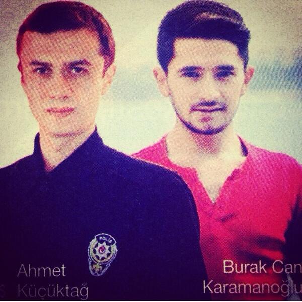 Burakcan Karamanoğlu, Şehit olan polisimiz Ahmet Küçükdağ.. Mekanınız cennet olsun inşallah.Allah sonumuzu hayır etsn http://t.co/W6JM6XOGyu