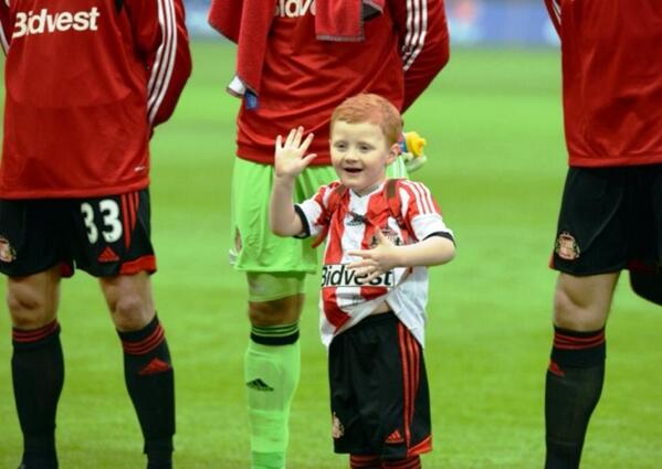 George is SO excited to be @SAFCofficial mascot on Saturday!! See you all there!! X http://t.co/VLh0QmXs8S