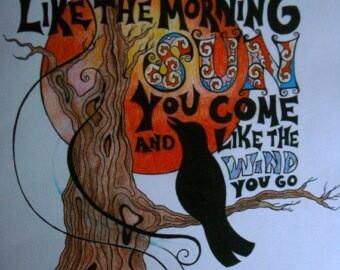 It's the same story the crow told me, it's the only one he knows  🌹💀🌹 #GratefulDead http://t.co/pHj1WhuVBN