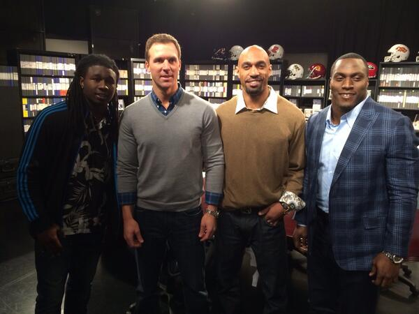 Hangin with the next #browns WR @sammywatkins on the #panel. @TakeoSpikes51 http://t.co/1xzT6QnBss