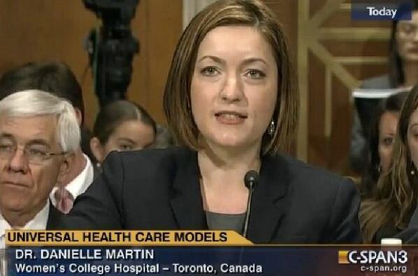 Listen to a Canadian doctor school a U.S. senator on public health care. http://t.co/3Iucnagrah http://t.co/1sLC3yBpgd