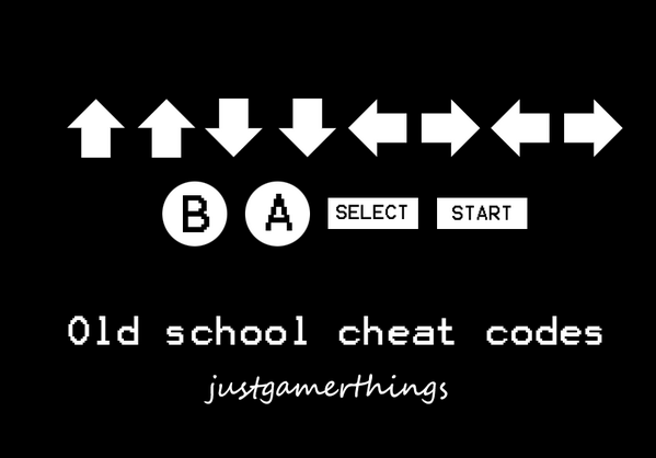 GameStop, Inc. (@GameStop): Old school cheat codes #throwbackthursday #justgamerthings http://t.co/f2sfoCcZ5Z