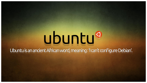 The real meaning of Ubuntu :) #ubuntu #linux #debian http://t.co/HG2HE21dRn