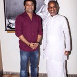 Met d GOD of MUSIC Raja sir today n got his blessings on d occasion of my 15 years of Musical Journey!!!:)))