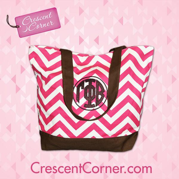 #TrendyThursday! RT for a chance to win this cute chevron tote & all of the Crescent Corner items featured in March! http://t.co/LqE8OkBmRF