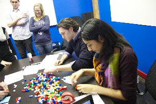 Spartz team building with the #lean lego game! http://t.co/fTnDzB3iL4